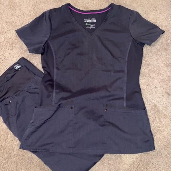 Purple Label Yoga scrubs